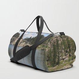 Sylvan Lake in the Black Hills Duffle Bag