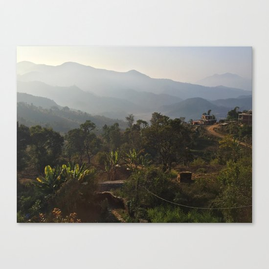 a good morning Canvas Print