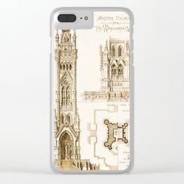 Design Proposal for the Washington Monument, Washington D.C. Clear iPhone Case