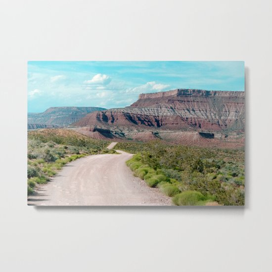 Dirt Road Home (La Verkin, Utah) Metal Print