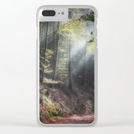 remain in light Clear iPhone Case