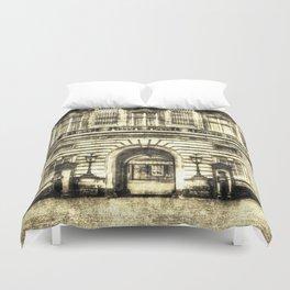 Buckingham Palace London Vintage Duvet Cover