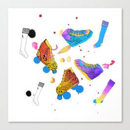 Skates & Sneakers Canvas Print
