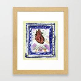 Framed Heart Framed Art Print