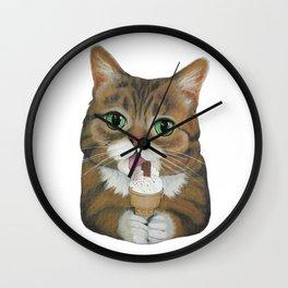 Lil Bub - famous cat Wall Clock