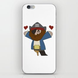 Pirate Love iPhone Skin