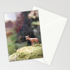 Temporary Happiness part 1 deer Stationery Cards