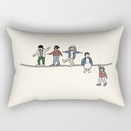 Stranger Thing The Acrobats and the Fleas Rectangular Pillow