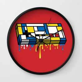 The Art of Gaming Wall Clock