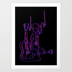 Resting Place - 3D Variant Art Print