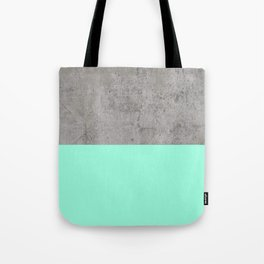 Sea on Concrete Tote Bag