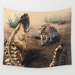 Tregko Stand Off Wall Tapestry