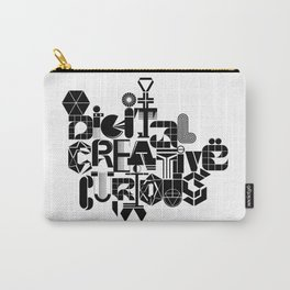 Digital Creative Curious by Extraverage Carry-All Pouch
