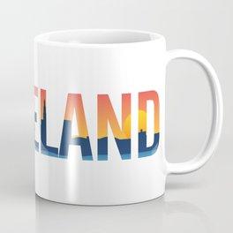 Cleveland Ohio Pride Illustration Coffee Mug