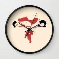 akira Wall Clocks featuring Akira by Tonytintheplace