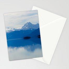 Lake Pukaki in New Zealand Stationery Cards