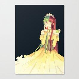 Princess Apple Canvas Print