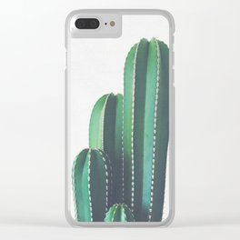 Organ Pipe Cactus Clear iPhone Case