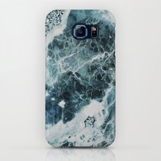Blue Sea Marble Galaxy S8 Slim Case