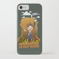 adventure is out there iPhone & iPod Cases featuring Adventure by BlancaJP