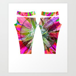 420 Leggings Art Print