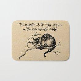 Imagination - Lewis Carroll - Alice in Wonderland Bath Mat