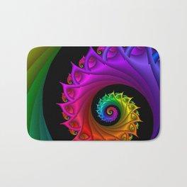 life is colorful -3- Bath Mat
