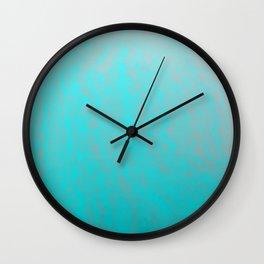blue storm Wall Clock