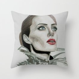 Queen Angie Throw Pillow