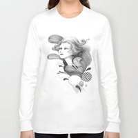 beethoven Long Sleeve T-shirts featuring Beethoven by Wendy Ding: Illustration