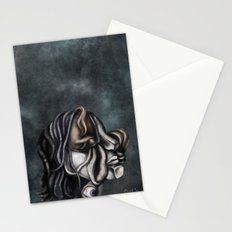 a cubistic me Stationery Cards