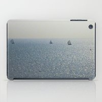 sailing iPad Cases featuring Sailing by David Pyatt