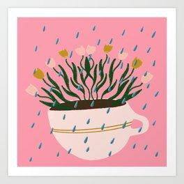 Water your inner beauty Art Print