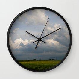 Big Sky Country Wall Clock