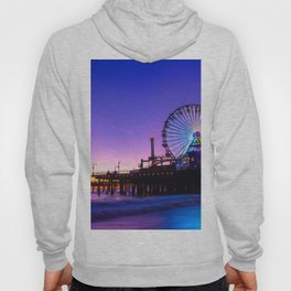 Santa Monica purple sunset Hoody