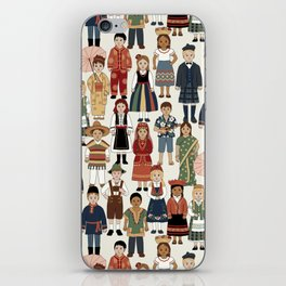Internatonal Kids iPhone Skin