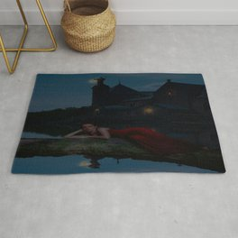 The Lady of the Lake Rug
