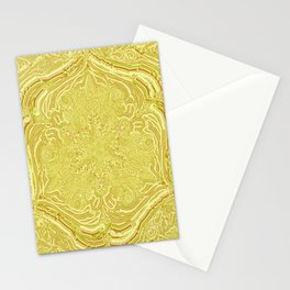 labyrinthe- holy geometry-hand painted Stationery Cards