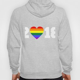 2018 New Year T-Shirt For LGBT. Hoody