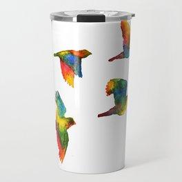 Rainbow Flight Travel Mug