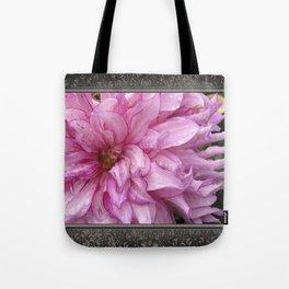 Dahlia named Annette C. Tote Bag