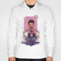 spock Hoodies featuring Spock by Tsuru
