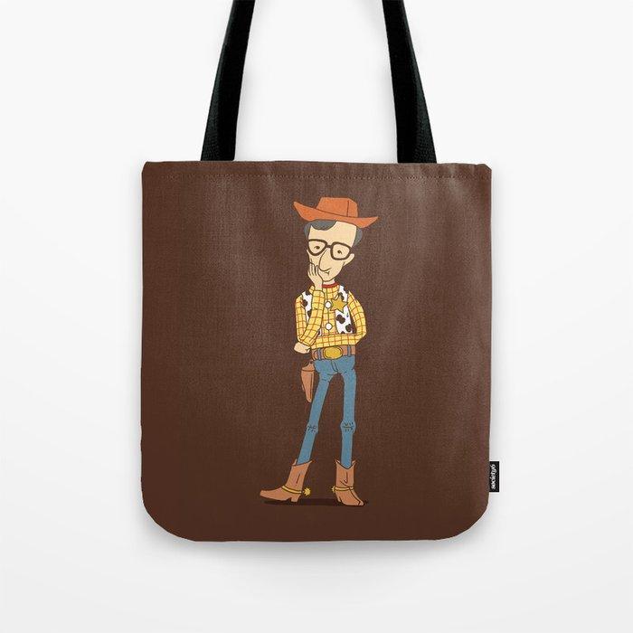 Woody Allen Tote Bag