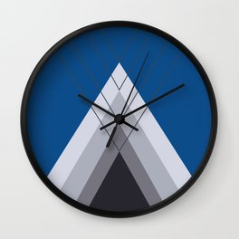 Iglu Lapis Blue Wall Clock