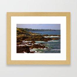 Raging Ocean Framed Art Print