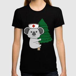 Climbing Koala Bear International Nurse T-Shirt T-shirt