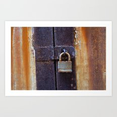Locked Art Print
