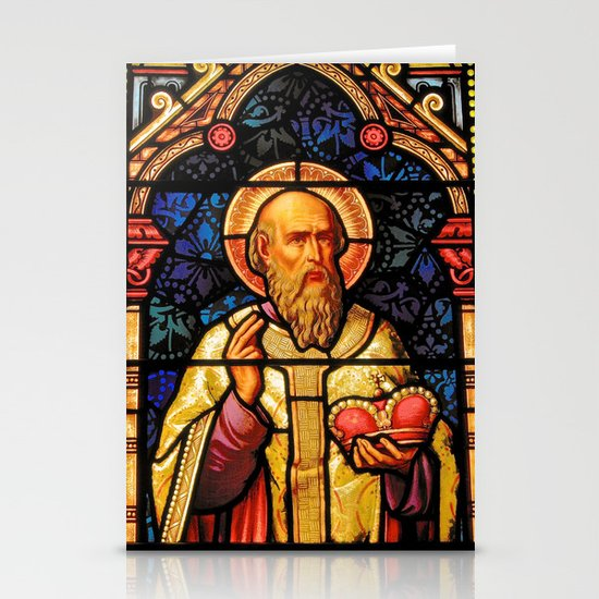 Saintly Glass #2 Stationery Cards
