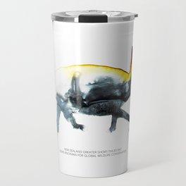New Zealand Greater Short-tailed Bat Travel Mug