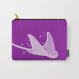 Apathetic Stingray Carry-All Pouch